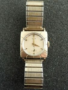 【送料無料】腕時計 ビンテージエルジンキャリバーvintage elgin wristwatch caliber 681 19 jewels running and keeping time