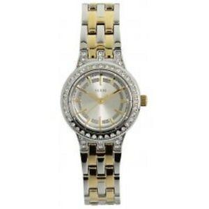 【送料無料】腕時計 ゴールドシルバーステンレスブレスレット authentic guess gold amp; silver tone stainless bracelet watch 26mm u12002l1