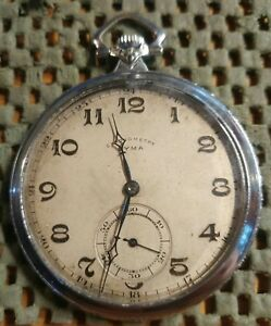 【送料無料】腕時計 ハイグレードタイプスイスクロノメータポケットタイムウォッチ