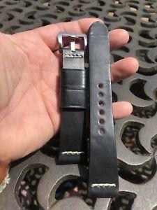 【送料無料】腕時計 ウォッチストラップグレッグスティーブンスパネライデザインブラック