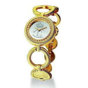 【送料無料】腕時計 キャバリウィメンズゴールドトーンスチールブレスレットケースクォーツウォッチjust cavalli womens goldtone steel bracelet amp; case quartz watch r7253122517