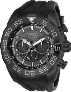 【送料無料】腕時計 メンズスピードウェイブラックシリコンストラップクロノグラフウォッチ
