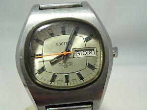 【送料無料】腕時計 ビンテージorologio daydate carica automatica egotrix anni 50 vintage acciaio