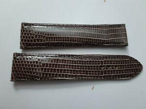 【送料無料】腕時計 ブレスレットカミーユブランウエストbracelet lezard sur mesure camille fournet couleur brun taille 20