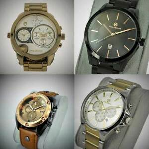 【送料無料】腕時計 エンツォアナログステンレススチール enzo giomani mutil function luxury wrist watches analog stainless steel gift