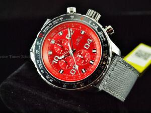 【送料無料】腕時計 メンズサファイアクリスタルエドクロノストラップウォッチinvicta mens 50mm naval aviator sapphire crystal limited ed chrono strap watch