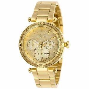 腕時計 ボルトゴールドトーンスチールブレスレットケースクオーツアナログウォッチ28957 invicta womens bolt goldtone steel bracelet amp; case quartz analog watch