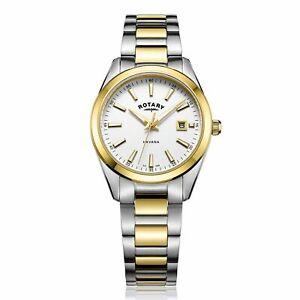 【送料無料】腕時計 ロータリーポンドウィメンズハバナトーンrotary lb0508002 womens havana two tone wristwatch