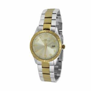腕時計 ソロテンポシルバーロデータウォッチorologio solo tempo uomo lorenz 026985cc acciaio silver oro watch data steel