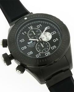 【送料無料】腕時計 ボックスクロノダイバーブラックシリコン