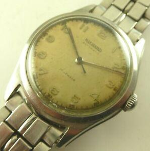 【送料無料】腕時計 ヴィンテージリチャードオーダneues angebotvintage 34mm richard 17 jewels automatic wristwatch working order