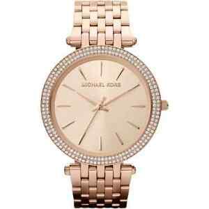 【送料無料】腕時計  michael kors mk3192 ladies rose gold darci watch 2 years warranty