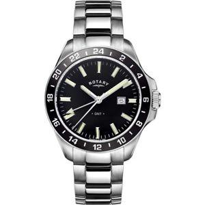 【送料無料】腕時計 ロータリーメンズウォッチbrand rotary mens gmt watch gb0501704
