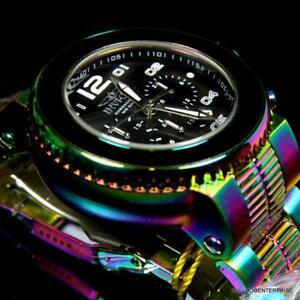 【送料無料】腕時計 メンズプロダイバークロノグラフウォッチスチールシールmens invicta pro diver combat seal iridescent steel chronograph 52mm watch