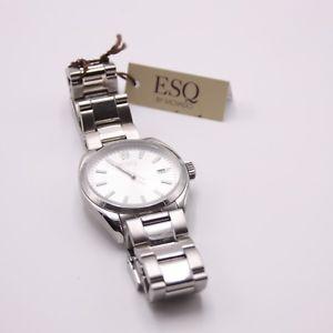 【送料無料】腕時計 スイスステンレススチールクオーツmovado esq stainless steel wristwatch 331145573 swiss quartz date