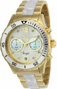 【送料無料】腕時計 カジュアルクオーツステンレススチールinvicta womens angel quartz stainless steel casual watch 24702