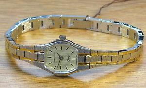 【送料無料】腕時計 ウィットトーンレディースクォーツスイスヴィンテージロマンスlongines wittnauer two tone vintage romance 6 j quartz swiss ladies wrist watch
