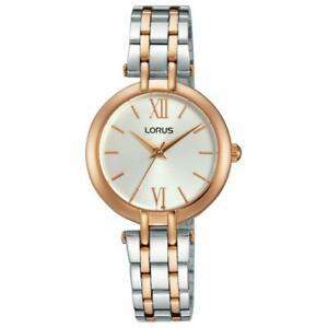 【送料無料】腕時計 レディーストーンブレスレット×lorus ladies two tone bracelet watch rg288kx9