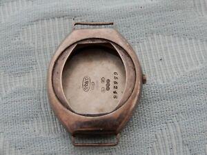 【送料無料】腕時計 アールデコシルバートノーケースoriginal 1918 silver tonneau shaped artdeco watch case, from an old estate