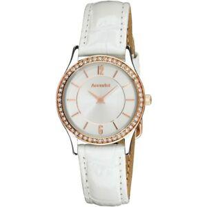 【送料無料】腕時計 レディースクリスタルウォッチセットaccurist ladies crystal set watch  ls648wrxanp