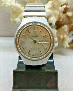 【送料無料】腕時計 クォーツビッグウォッチearly quartz watch gents timex big 38mm ss