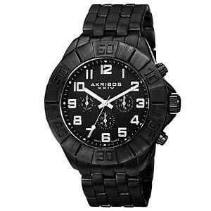 【送料無料】腕時計 メンズスイスクオーツマルチファンクションブレスレット