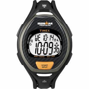 【送料無料】腕時計 メンズラップウォッチクロノグラフアラームtimex t5k335, mens ironman 50lap resin watch, alarm, indiglo, chronograph