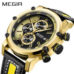 【送料無料】腕時計 クォーツファッションスポーツluxury megir military men quartz fashion waterproof sport watches gifts for him