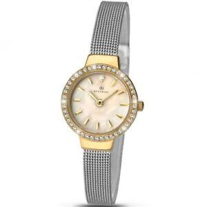 【送料無料】腕時計 レディースメッシュブレスレットaccurist ladies mesh bracelet watch 8142