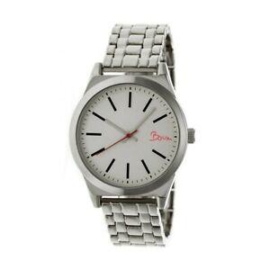 【送料無料】腕時計 エネルギーシルバーブレスレットboum energie womens silver bracelet watch bm4501