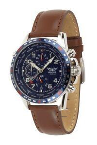 【送料無料】腕時計 シリーズメンズクロノグラフワールドタイムウォッチaviator avw78420g388 fseries mens chronograph worldtime watch