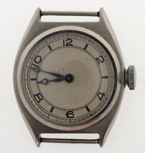 【送料無料】腕時計 スイススチールtalis swiss 1940s all steel staybrite cased small gents wristwatch