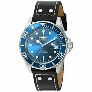 【送料無料】腕時計 プロダイバーレザーウォッチinvicta pro diver 22068 leather watch