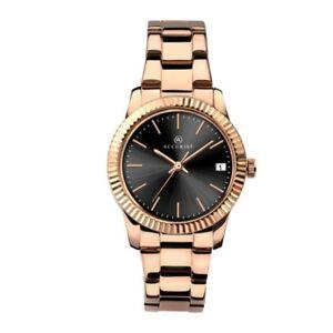 【送料無料】腕時計 レディースローズゴールドメッキウォッチaccurist ladies rose gold plated watch 8114