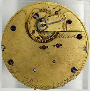 【送料無料】腕時計 リバプールレバーポケットクロノグラフムーブメントスペアウォッチ
