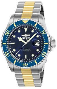 【送料無料】腕時計 プロダイバートーンブレスレットinvicta 25716 mens pro diver two tone bracelet watch