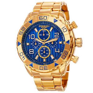 【送料無料】腕時計 ダイバーベゼルクロノグラフゴールドトーンブレスレットmens akribos xxiv ak814ygbu divers bezel chronograph goldtone bracelet watch
