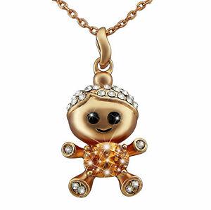 【送料無料】アクセサリー ネックレスクリスマスホワイトゴールドハートネックレスlas seoras joyera oro plateado collar doble regalo de oro blanco corazn navidad
