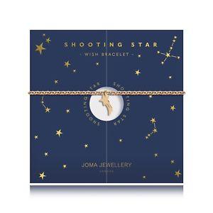 【送料無料】アクセサリー ネックレスバッグクリスマスブレスレットjoma joyas chapado en oro pulsera de deseo estrella fugaz en bolsa de regalo, navidad