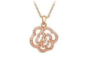 【送料無料】アクセサリー ネックレスクリスマスピンクゴールドゴールドネックレスlas seoras joyera oro regalo de collar rosado oro para navidad