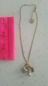 【送料無料】アクセサリー ネックレスビビゴールドトーンネックレスペルラqvc bibi bijoux ~ oro tono collar de corazn con perla real encanto