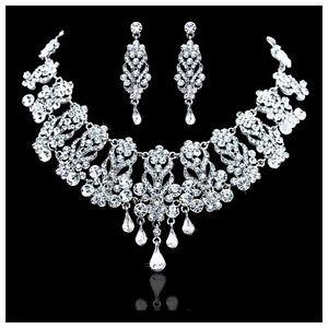 【送料無料】アクセサリー ネックレスペンダントネックレスアフリカboda nupcial cristal lgrima collar pendiente joyera set fiesta africana