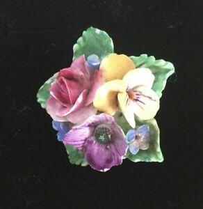 【送料無料】アクセサリー ネックレスブローチクラウンスタフォードシャーchina flor broche corona staffordshire