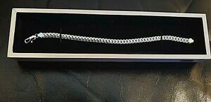 【送料無料】アクセサリー ネックレス スワロフスキーシルバーブレスレットrocio illumini 925 argento bracciale realizzati con elementi swarovski illuminati 7