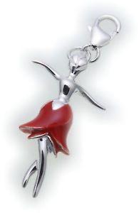【送料無料】アクセサリー ネックレス バレリーナスターリングシルバーブレスレットciondolo ballerina vero argento 925 braccialetto con sterling qualit