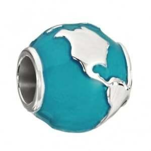 【送料無料】アクセサリー ネックレス autentico chamilia 20200755 around the world globo argento sterling