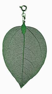 【送料無料】アクセサリー ネックレス ステンレストレーラシートダークグリーンfiglio dei fiorifoglio rimorchio large verde scuro bl03lgg in acciaio inox