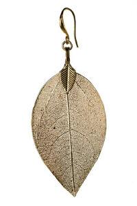 【送料無料】アクセサリー ネックレス イヤリングfiglio dei fiori da donna orecchini oro foglie metallo ble03sgo
