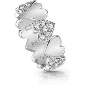 【送料無料】アクセサリー ネックレス リングブーケコレクションシルバーanello guess jewelry heart bouquet collection ubr8502452 silvercrystals