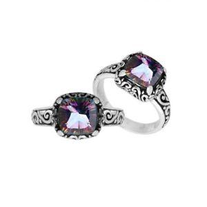 【送料無料】アクセサリー ネックレス スターリングシルバーリングクッションargento sterling cuscino forma anello con quarzo mistico ar6182mt8
